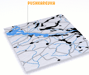 3d view of Pushkarëvka