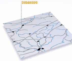 3d view of Sudakovo