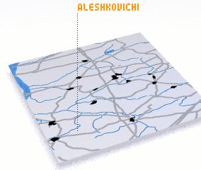 3d view of Aleshkovichi