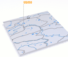 3d view of Udino