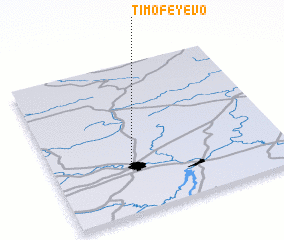 3d view of Timofeyevo