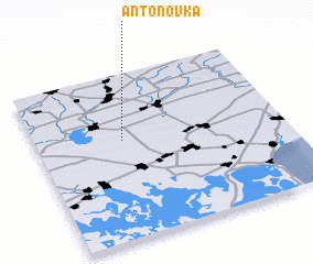 3d view of Antonovka