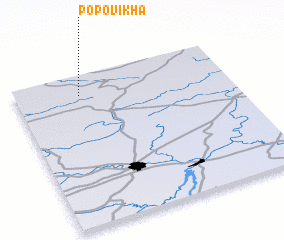 3d view of Popovikha
