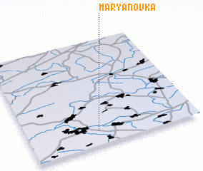 3d view of Mar'yanovka