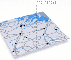 3d view of Aromatnoye