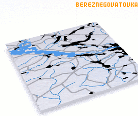 3d view of Bereznegovatovka