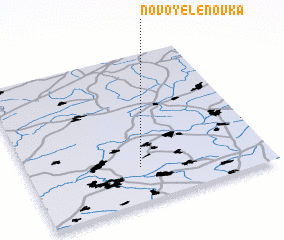 3d view of Novo-Yelenovka