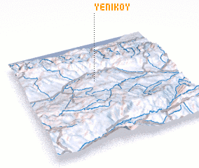 3d view of Yeniköy