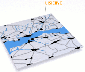 3d view of Lisich'ye