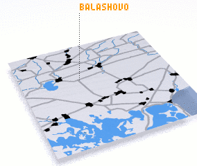 3d view of Balashovo