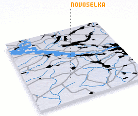 3d view of Novosëlka