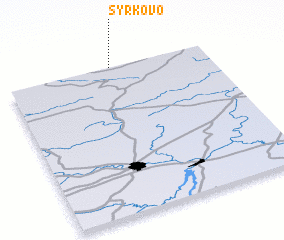 3d view of Syrkovo