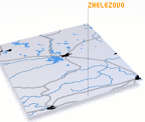 3d view of Zhelezovo
