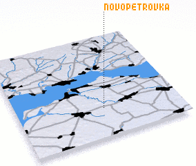 3d view of Novo-Petrovka
