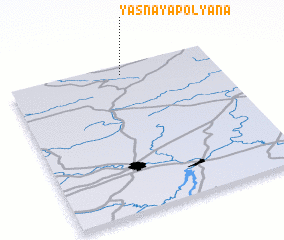3d view of Yasnaya Polyana