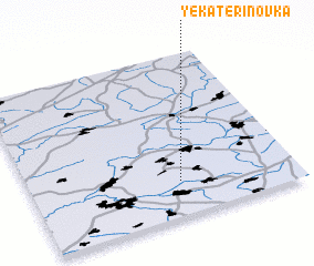 3d view of Yekaterinovka