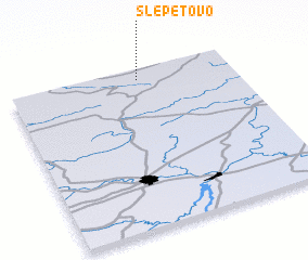 3d view of Slepetovo