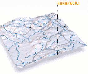 3d view of Karakeçili