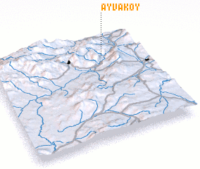 3d view of Ayvaköy