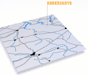 3d view of Korenskoye