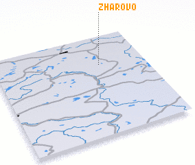 3d view of Zharovo