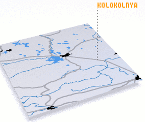 3d view of Kolokol\