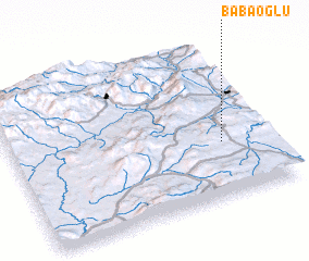 3d view of Babaoğlu