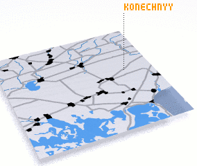 3d view of Konechnyy