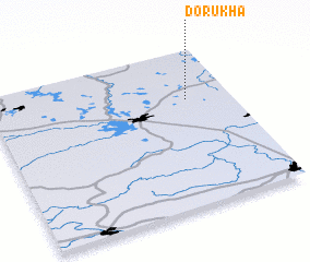 3d view of Dorukha