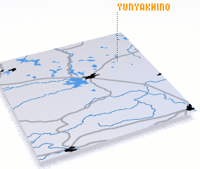 3d view of Yunyakhino