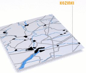 3d view of Kozinki