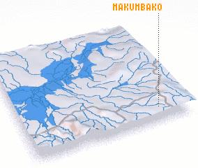 3d view of Makumbako
