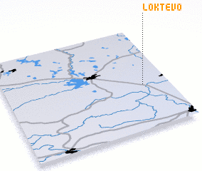 3d view of Loktevo