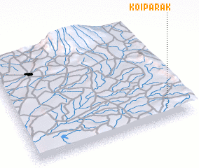 3d view of Koiparak