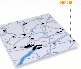 3d view of Rudaki