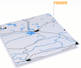 3d view of Fedovo