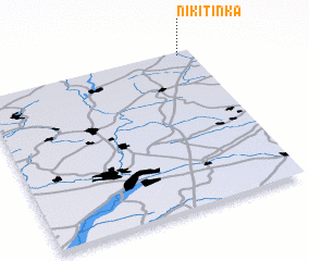 3d view of Nikitinka
