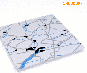 3d view of Saburova