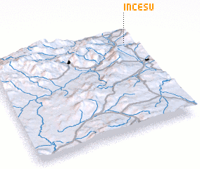 3d view of İncesu