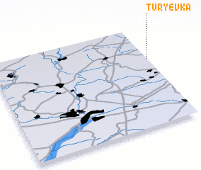 3d view of Tur\