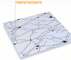 3d view of Timofeyevskoye