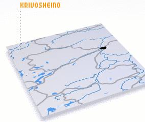 3d view of Krivosheino