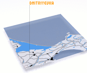 3d view of Dmitriyevka