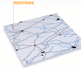 3d view of Moseykovo