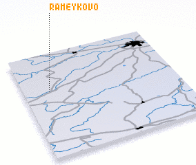 3d view of Rameykovo