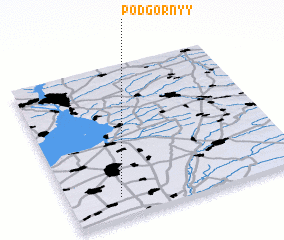 3d view of Podgornyy
