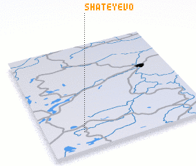 3d view of Shateyevo