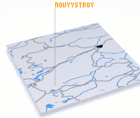 3d view of Novyy Stroy