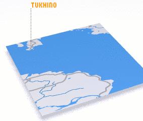 3d view of Tukhino