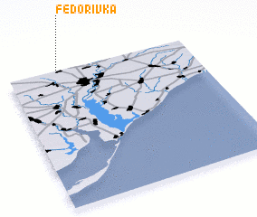 3d view of Fedorivka